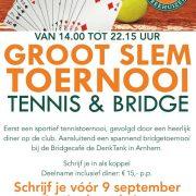 Tennis en Bridge: GROOT SLEM TOERNOOI