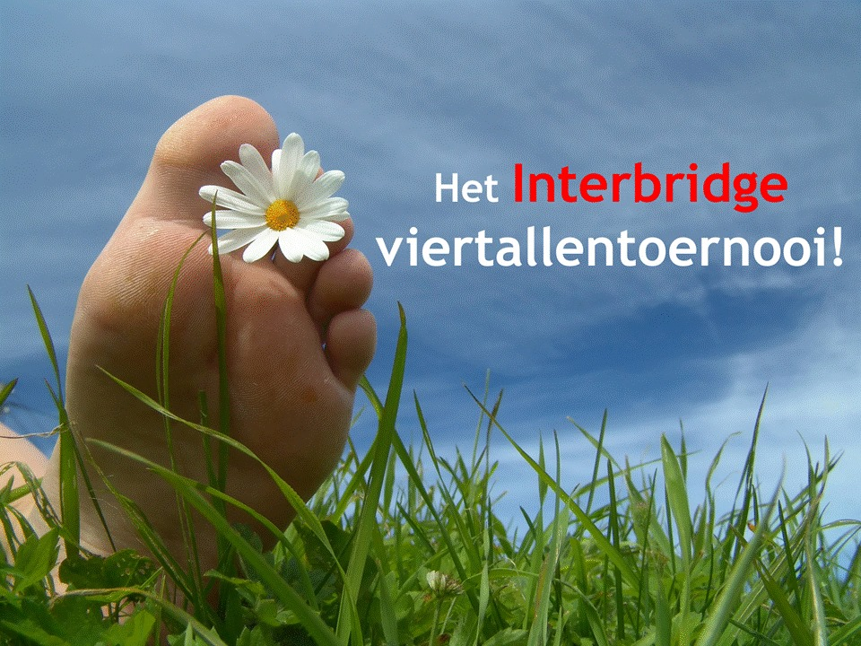 Interbridge viertallentoernooi