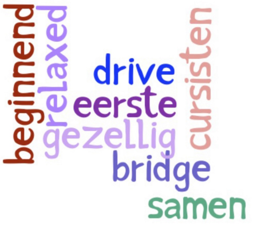 Toekomstlijn voor (ex-) bridgecursisten