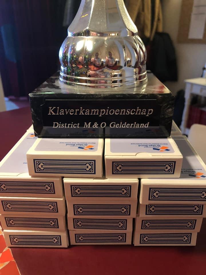 Klavercompetitie 2019 Beker op het spel