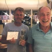 Zondag is het Grand Slem Tennis & Bridge gewonnen door de Nijmegenaren Paul Bosveld en Gerard Carpay. Gefeliciteerd!